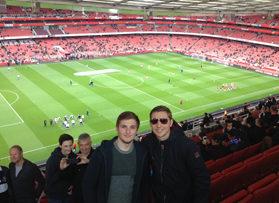 Voetbalreizen Recensie Arsenal - Meneer Landtsheer