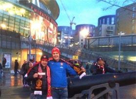 Voetbalreizen Recensie Arsenal - Meneer Daniels