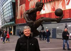 Voetbalreizen Recensie Arsenal - Meneer van Geel
