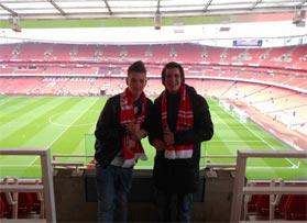 Voetbalreizen Recensie Arsenal - Meneer de Veld