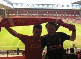 Voetbalreizen Recensie Liverpool FC - Meneer Verelst