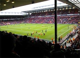 Voetbalreizen Recensie Liverpool FC - Meneer van Cuyck