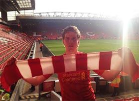 Voetbalreizen Recensie Liverpool FC - Meneer van Diepen