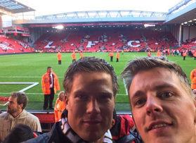 Voetbalreizen Recensie Liverpool FC - Meneer van den Burg