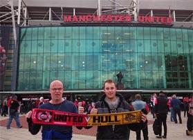 Voetbalreizen Recensie Manchester United - Meneer van der Voort