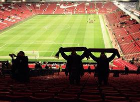 Voetbalreizen Recensie Manchester United - Meneer van Vliet