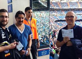Voetbalreizen Recensie Real Madrid CF - Personeel Duni