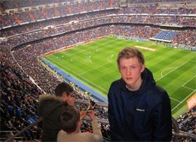 Voetbalreizen Recensie Real Madrid CF - Meneer van t' Zelfde