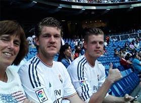 Voetbalreizen Recensie Real Madrid CF - Mevrouw van Groesen